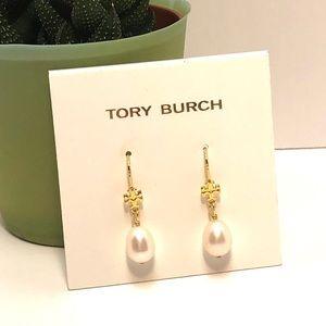 Tory Burch Freshwater Pearl Drop Earrings